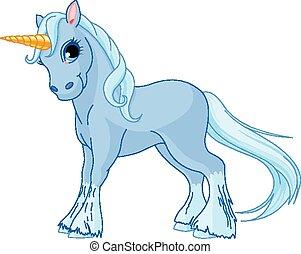 posición, unicornio