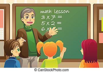 profesor, aula