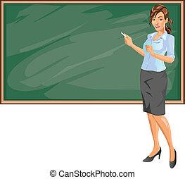 profesor, hembra