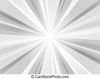 Rayos abstractos, fondo gris de papel tapiz