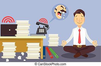 Relájate en el trabajo