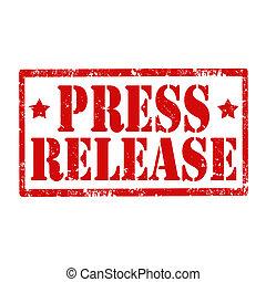 release-stamp, prensa