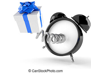 reloj, regalo, alarma