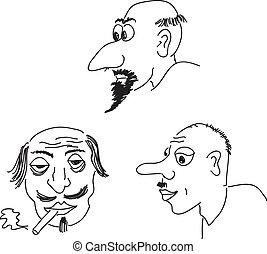 Retratos de caricatura