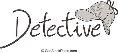símbolo, mensaje, estilo, detective