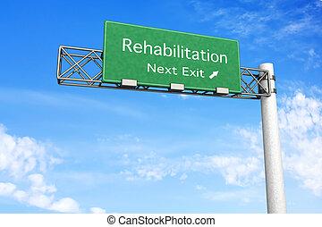 Señales de carretera: rehabilitación