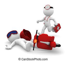Servicios médicos de emergencia. Aíslalo