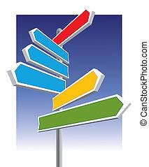 Signos de dirección