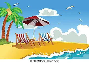 Sillones de playa