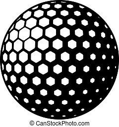 Simbolo de pelota de golf