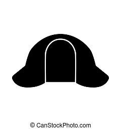 sombrero, sherlock, icono