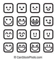sonrisa, icono