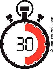 Stopwatch treinta minutos