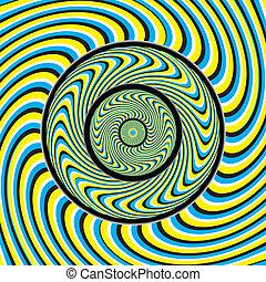 Swirlpool suena (Ilusión de movimiento)