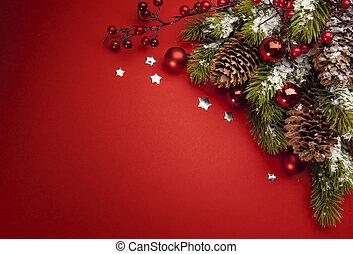 Tarjeta de Navidad de arte