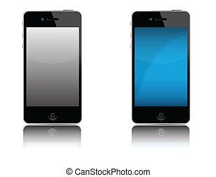 teléfono celular, moderno