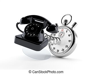 Teléfono con cronómetro
