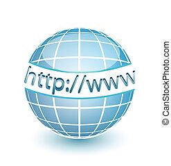 tela, http, www, globo, internet