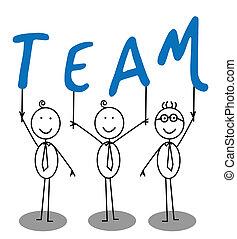texto, grupo, equipo
