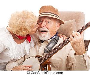 Un beso para el abuelo