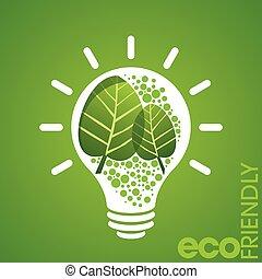 Un concepto amistoso ambiental