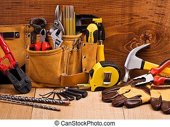 Un conjunto de herramientas de trabajo