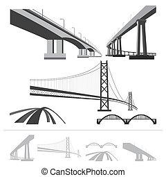 Un conjunto de puentes
