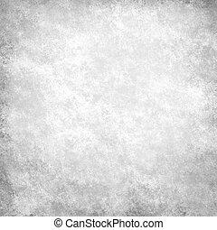 Un fondo blanco y negro con acento negro en la frontera y un fondo antiguo de textura grunge, un fondo gris abstracto de papel blanco, tela negra, textura monocromática
