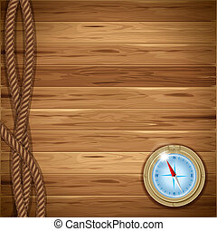 Un fondo de madera