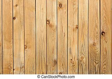 Un fondo de tablas de pino con nudos