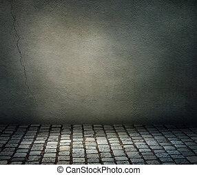 Un fondo oscuro