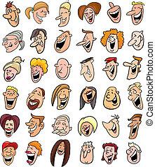 Un grupo enorme de risas