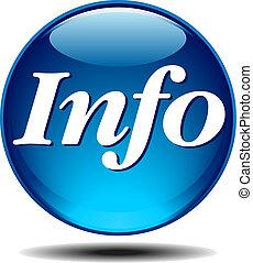 Un icono de información
