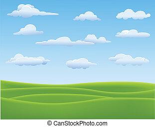 Un paisaje natural