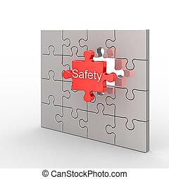 Un rompecabezas de seguridad