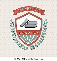 Una etiqueta universitaria