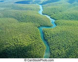 Una foto aérea