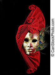 Una máscara misteriosa