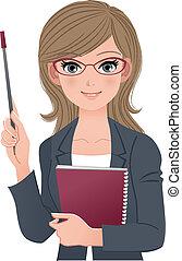 Una profesora inteligente