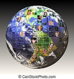 Una red mundial de gente