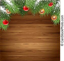 Una tarjeta de Navidad
