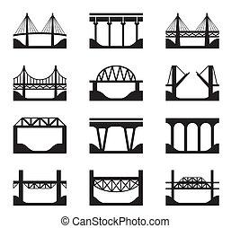 Varios tipos de puentes