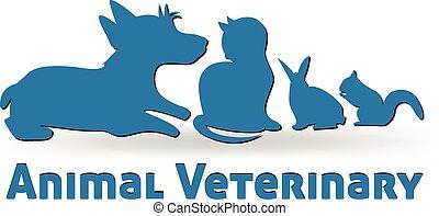 Vector de logo de mascotas