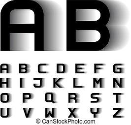 Velocidad de movimiento borroso letras de letras de letras de letras de letras