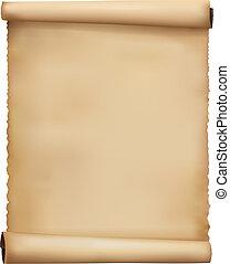 Viejos antecedentes de papel usado. Vector.